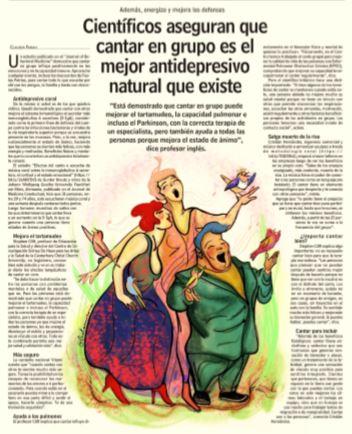 Coro Para Adultos El Molino De Las Letras