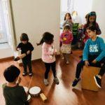 Espacio abierto para niñ@s en el barrio de Las Letras, en el centro de Madrid