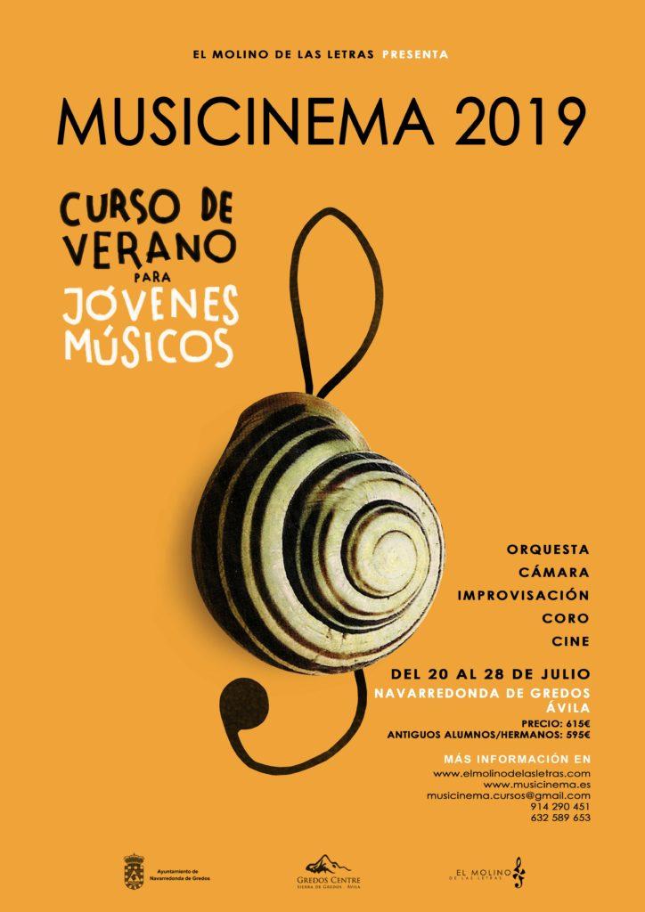 MUSICinema, música y cine en la sierra de Gredos, Ávila. Curso de Verano para niños para pasárselo en grande en las vacaciones.