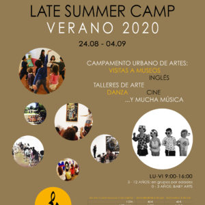 LATE SUMMER CAMP 2020