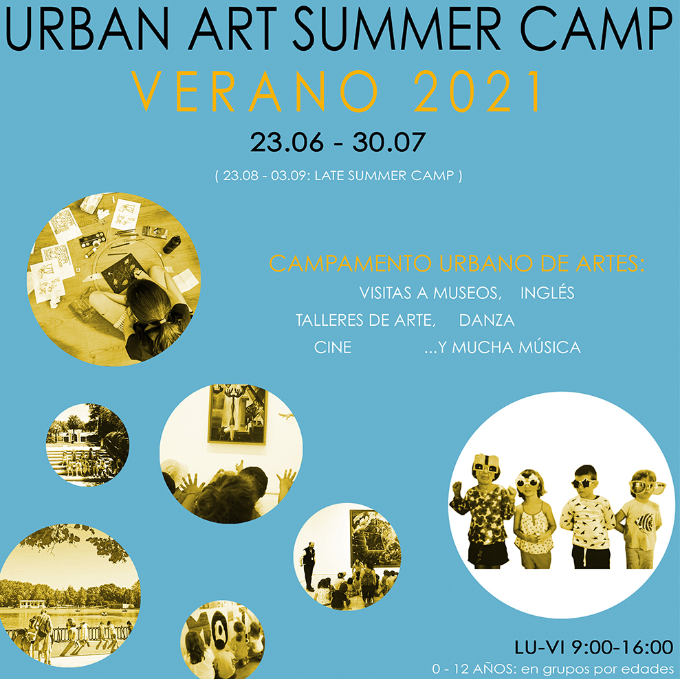 Campamento urbano de artes de Verano, El Molino de Las Letras, en el corazón de Madrid